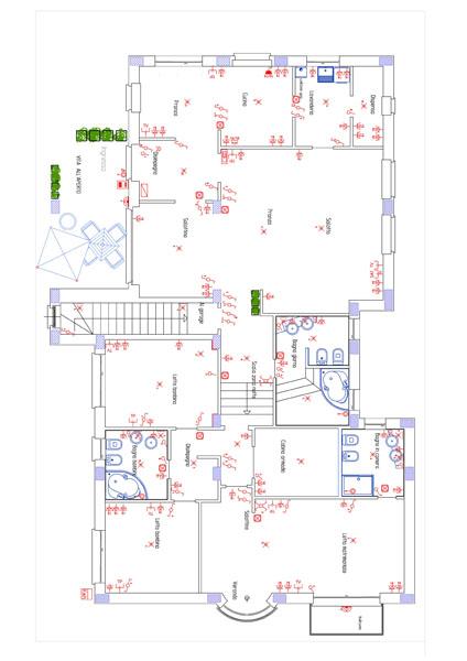 Studio tecnico spinelli lavori eseguiti for Impianto elettrico appartamento